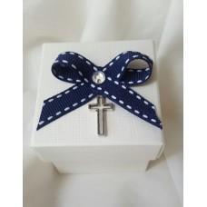Crucifix Charm Communion Favour Box