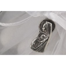 Mary & Child Tulle Communion Favor.
