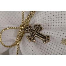 Linen sweet bag Communion favor