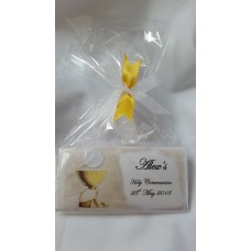 Holy Communion Chalice Personalised Chocolate Bar