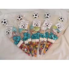 Football sweet Cones