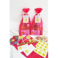 Smiley Faces  Party bags