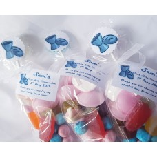 Blue First Communion Sweet Cones