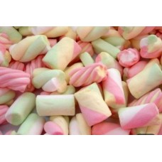 stripey marshmallows