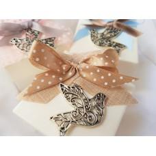 Dove charm Confirmation sweet favor box