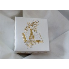 White Confirmation box