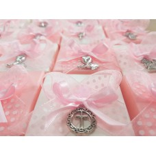 Mixed charms First Communion sweet box Favour