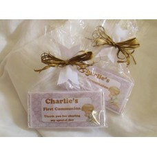 Angel First Communion Personalized Chocolate Bar