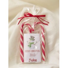 Children Personalised Christmas chocolate set