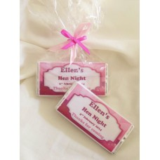 Hen Night Personalized Chocolate Bar