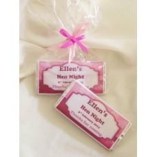 Hen Night Personalized Chocolate Bar