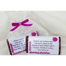 Mother's Day personalised chocolate