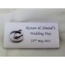 Wedding personalised Chocolates