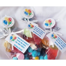 Birthday balloons Sweet Cone Party bags