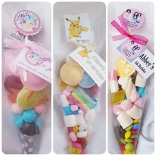 cone  shaped sweet bags theme of your choice