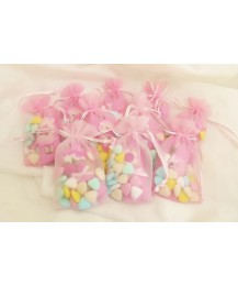 Pink Pencil Party Favour bag