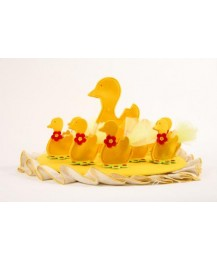 Yellow Ducks Christening Favours