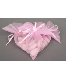 NEW Pink Tulle Cone Christening Favour