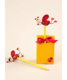 Ladybird Pencil Favour