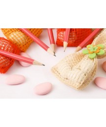 Flower Pencil Birthday Favour