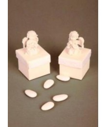 White Angel Holy Communion Favour