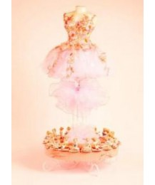 Pink Ballerina Favour Stand