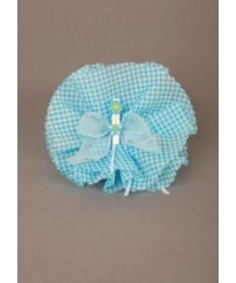 Blue Flower Rosette Favour