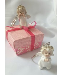 Little Angels Keyring Communion Favor