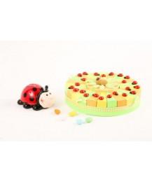 Ladybird Birthday Favour Cake
