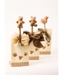 Paw Print Birthday Favour