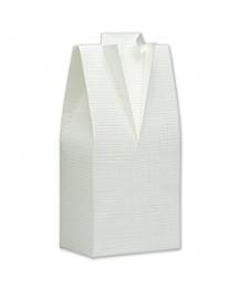 White Tuxedo Favour Box