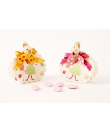 Round Fairy Party boxes