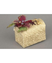 Gold Chest  Christmas Favour