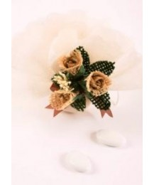 Ivory Yuta Wedding Favor