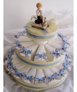 Boy's Communion Favour Cake