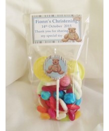Christening Boy Sweet Bags