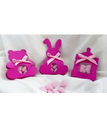 Christening favours Girls set of 3
