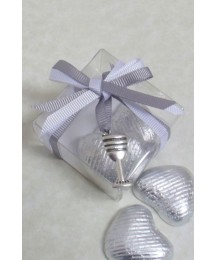 Clear box with Communion chalice charm