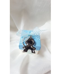 Communion Boy Key Ring Favor Gift Box