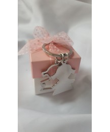 Communion Girl Key Ring Favor Gift Box