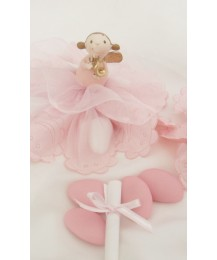 Musical Angel Christening Favour