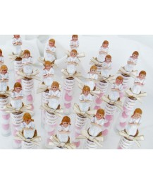 Glass Tube Holy Communion Favours