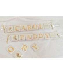 Letter Name Mini Chocolates Set
