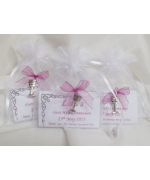 Personalised Communion Bar with Chalice Charm