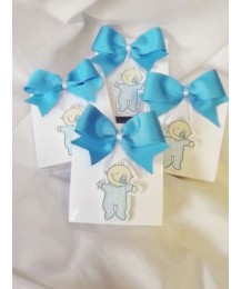 Wooden Baby Boy Christening Favor