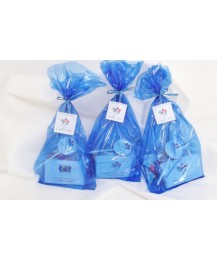 Blue traditional party bags