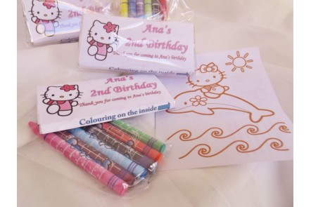 Colour My Choc Hello Kitty