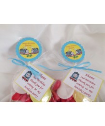 Party Invitation (chocolate bar) and Party Bags combo