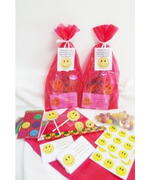 Smiley Faces Red Partybags