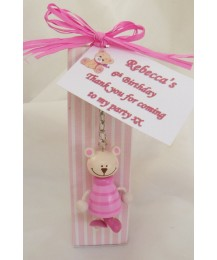 Teddy Keyring Party Favour